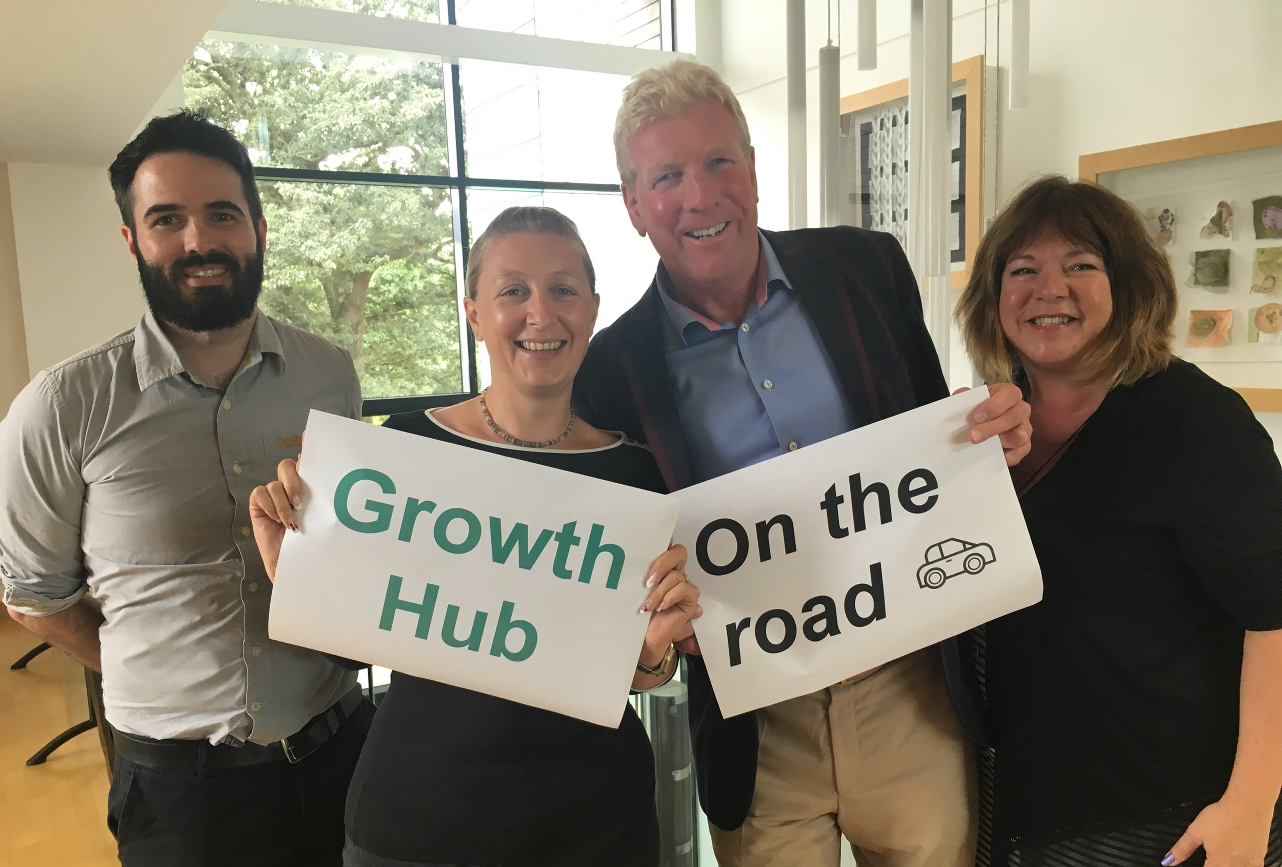 Growth Hub On The Road